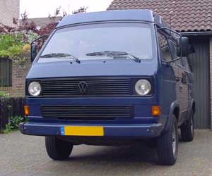 VW T3 Syncro camper