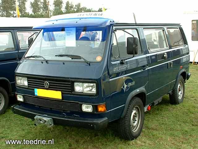 """VW T3 16"""" Syncro camper met zonneklep"""