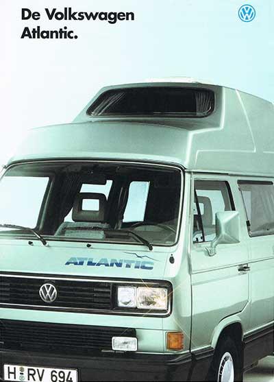 VW T3 Atlantic brochure