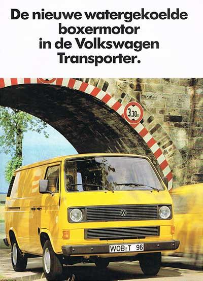 De nieuwe watergekoelde boxermotor in de Volkswagen Transporter