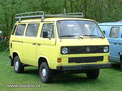 VW T3 kombi met banken