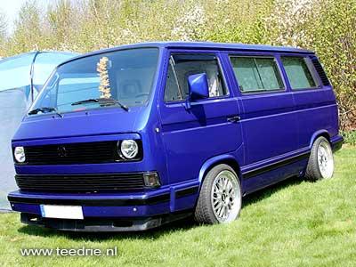 VW T3 multivan blauw