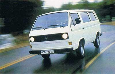 VW T3 luchtgekoelde personenbus