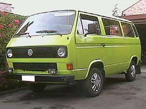 VW T3 kombi met ramen rondom