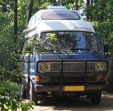 VW T3 Westfalia club joker op bosweg
