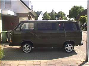 Voormalig leger VW T3