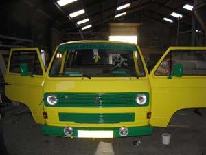VW T3 personenbus voor uitgaansvervoer
