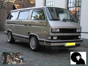 VW T3 Caravelle multivan