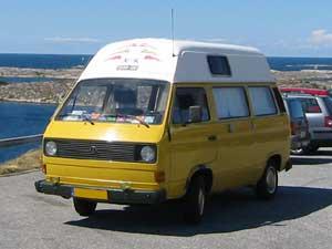 VW T3 camper met hoogdak