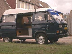 Ex-marechaussee VW T3 Syncro tot camper omgebouwd
