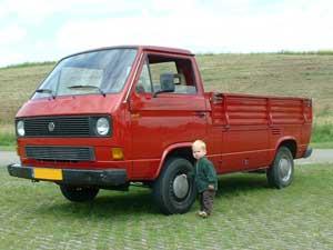 Later als ik groot ben koop ik ook een VW T3