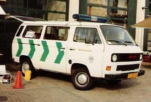 VW T3 bus van de politie Utecht