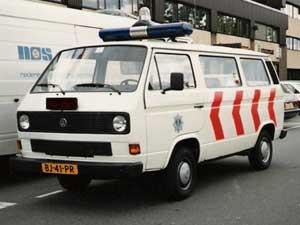 VW T3 politiebus van de gemeente Utrecht