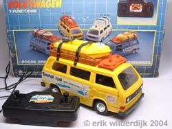 Afstandbestuurbare plastic speelgoed VW T3 bus