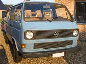 VW T3 bus met ramen rondom