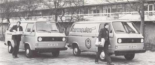 VW bussen van Termeulen Post