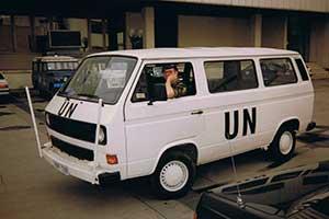 VW T3 verenigde naties