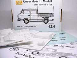 Vacuumbouwdoos van een VW T3 doka