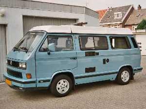 VW T3 camper op basis van een multivan