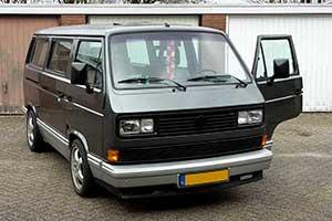 T3 Caravelle Carat in twee kleuren grijs metallic