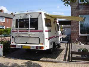 Achterzijde VW T3 Termeer camper