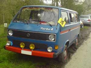 T3 Caravelle personenbus