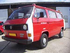 VW T3 personenbus ex-brandweer Duitsland