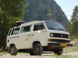 VW T3 Syncro 14inch camper