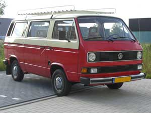 9 persoons Caravelle rood met wit