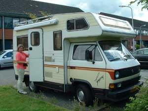 T3 camper Karmann Gipsy