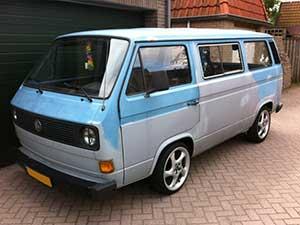 Luchtgekoelde VW T3 combi