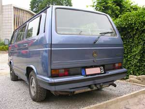 T3 BlueStar multivan