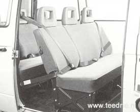 M 186 3 punstgordels passagiersruimte
