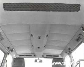 M 573 airconditioning tunnel in het dan van een T3 bus