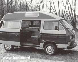 M 645 een T3 die voorbereid was voor een ombouw naar camper Dehler Profi