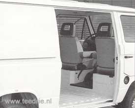 M 658 een T3 bus zonder schuifdeur
