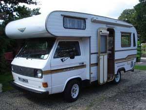 VW T3 camper Jurgens Autovilla