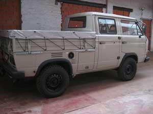T3 Syncro dubbelcabine pick-up