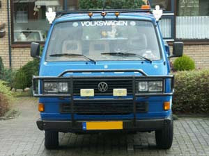 VW T3 doka pick-up met bullbar