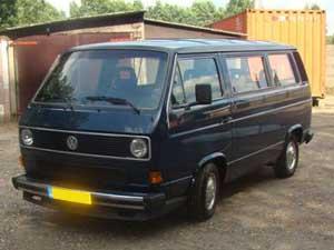 Caravelle in twee kleuren blauw