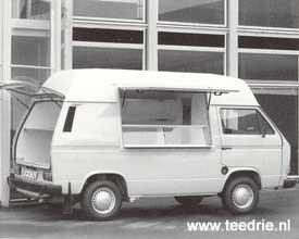 S 724 voorbereiding voor een VW T3 verkoopwagen