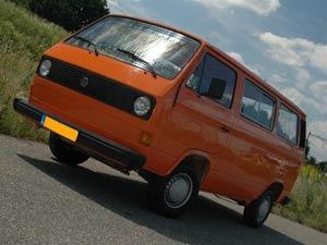 VW T3 kombi met ruiten rondom