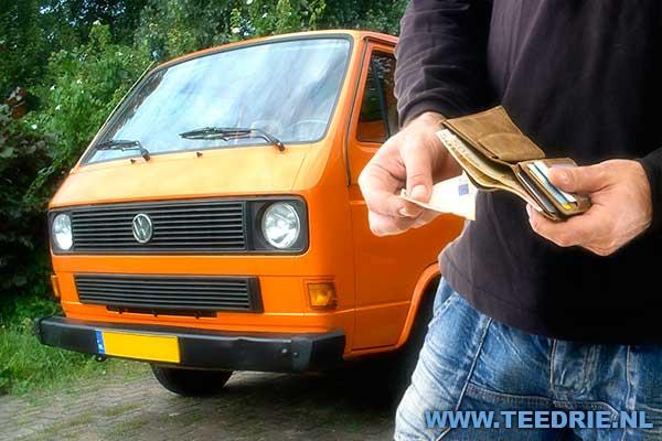 VW T3 bus te koop wordt betaald