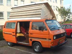 VW T3 camper Terberg Devon