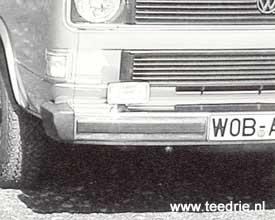 Z 01 slechtweer pakket voor de VW T3 bus
