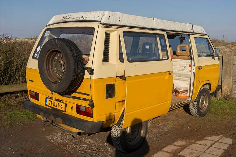 Vaak VW T3 Syncro camper te koop - De Nederlandse VW T3 site #FF73