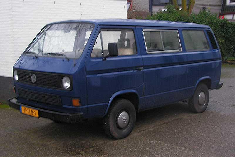 VW T3 transporter personenbus turbodiesel 1986 te koop