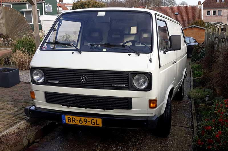 VW T3 gesloten bestelbus bouwjaar 1986 te koop